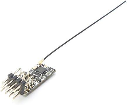 shizhongminghe-UK Flysky FS2A 4CH AFHDS 2A Mini Compatible Receiver PWM Output for Flysky i6 i6X i black