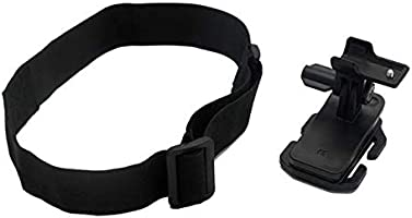 Head Strap Clip Mount Kit For Sony Action Cam HDR-AZ1 FDR-X1000VR As BLT-CHM1