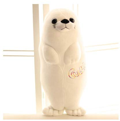 DishyKooker i Plush Seal Doll Lifelike Sea Lions Plush Toys Cuddle Pillow Kids Toys Lovely Doll Girlfriend Best Gifts Brinquedos WW341 ()