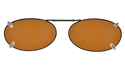 Marron Lunettes de monture polarisee metallique Sur Eyekepper 43 soleil 30MM z7Fwp5q