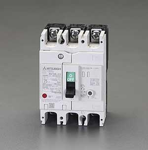 AC100-440V/60A/3極漏電遮断器 (フレーム100)