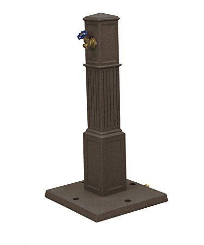 Good Ideas OGHT-RED Oasis Garden Hose Tap, Red Brick (Red Station Brick)