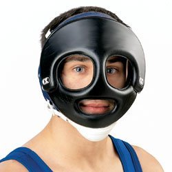 Cliff Keen Wrestling Face Guard Black by Cliff Keen