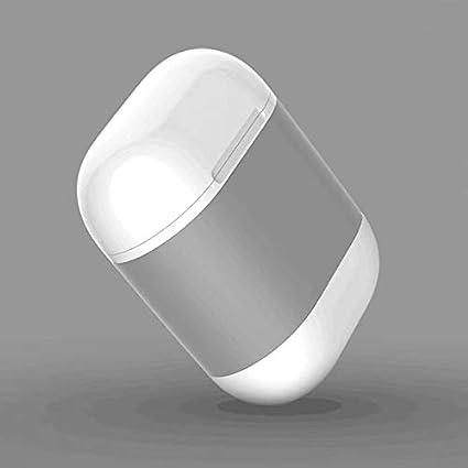 LanLan Estuche de Carga Auriculares inalámbricos Airpods QI Estándar Cubierta de Receptor de Carga inalámbrica Airpods