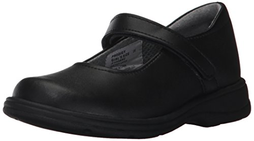 School Issue Prodigy 5100 Mary Jane Uniform Shoe (Toddler/Little Kid/Big Kid),Black BKC,3 W US Little Kid by School Issue