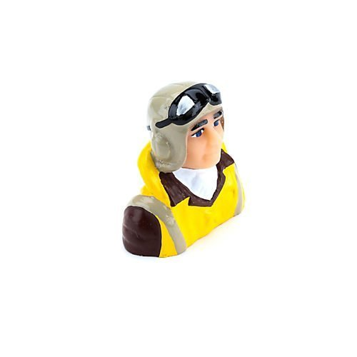 1/8 Scale WWII Pilot with Vest, Helmet & Goggles by Hangar 9 Hangar 9 Scale