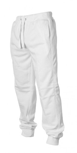 Urban Classics Hommes Straight Fit Sweatpants TB252, taille:XXL, couleur:white