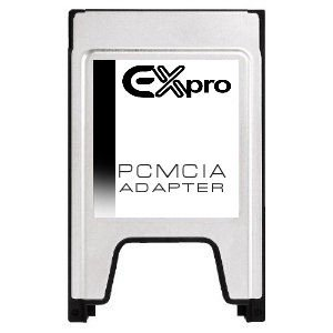 /Adaptador PCMCIA Tarjeta Compact Flash para sistemas de Mercedes COMAND APS S E C GLK Class -con ranura PCMCIA EX-Pro/
