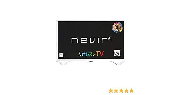 TV LED 32 Nevir NVR-8050-32RD2S HD Ready Smart TV Blanco: Amazon ...