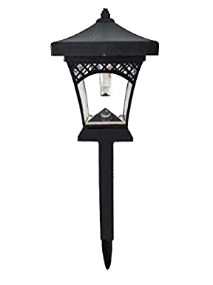 Sogrand 4pcs-Pack Solar Lights Outdoor,Classic Style,Solar Light,Landscape Lighting,Solar Pathway Lights,for Lawn,Patio,Yard,Walkway,Driveway,Pathway,Garden,Landscape