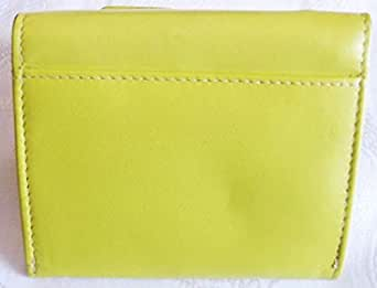Leather Cute Bow Purse CANARY YELLOW p63