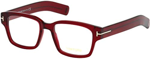 TOM FORD Eyeglasses FT5527 066 Shiny Red