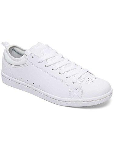 Dc Shoes Damen Magnolia Della Scarpa Da Tennis Bianco / Bianco / Bianco