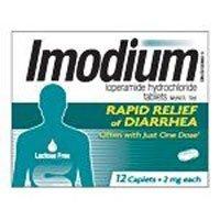 Imodium Multi-Symptom Relief Caplet Box, Caplets 12-Count