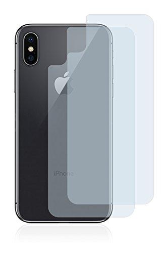 2x BROTECT Pellicola Protettiva Opaca per Apple iPhone X Posteriore (intera superficie) Proteggi Schermo - Opaco, Antiriflesso