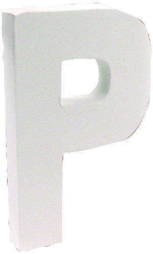 Decopatch Buchstabe aus Pappmaché