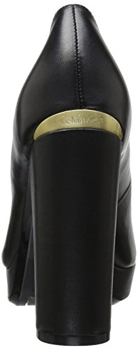 Calvin Klein Women's Monika Leather Pump Black BUtdcOxO