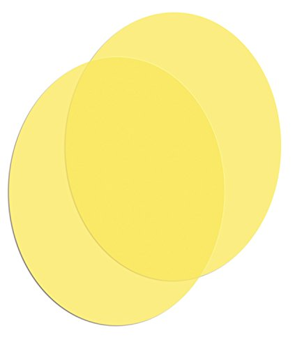 HELLA H87988431 Color Shieldz Yellow Protective Laminate for 500 / 500FF Series Lamps