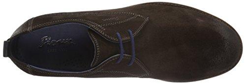 Sioux Scivio-hw, Zapatos de Cordones Derby para Hombre marrón oscuro