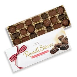 - Russell Stover Nut, Chewy & Crisp Assortment, 12 oz. Box