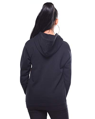Dickies Girl's Icon Logo Fitted Hoodie (Black, Small) by Dickies (Image #1)