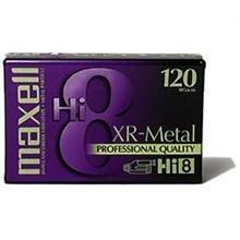 Single XR-Metal Particle Hi-8 Videocassette
