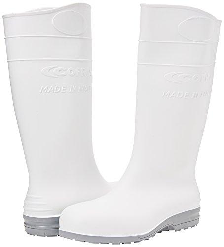 """Cofra 00310–004.w41S4SRC taglia 41""""Eclypse Scarpe di sicurezza, colore: bianco"""