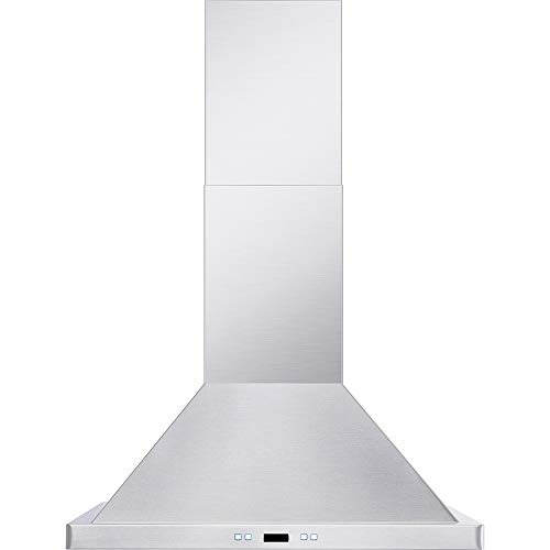 DKB 36″ Inch Wall Mounted Range Hood Brushed Stainless Steel With Halogen Lights 600 CFM