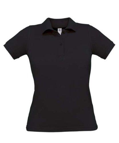 Safran Ladies Polo, Farbe:Fuchsia;Größe:L