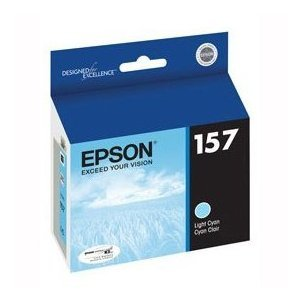NEW EPSON OEM INKJET INK FOR STYLUS R3000 - 1 STANDARD LT CYAN ULTRA INK (Printing Supplies)