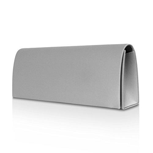 GloopGloop - Cartera de mano para mujer multicolor multicolor 22004 Silver