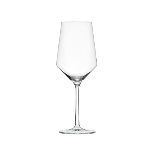 Schott Zwiesel Tritan Crystal Glass Pure Stemware Collection Cabernet Red Wine Glass, 18.2-Ounce, Set of 6 (Wine Crystal Glasses)