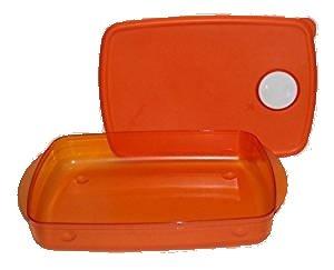 Tupperware Rock N servir 6 taza microondas Rectangular Bol de ...