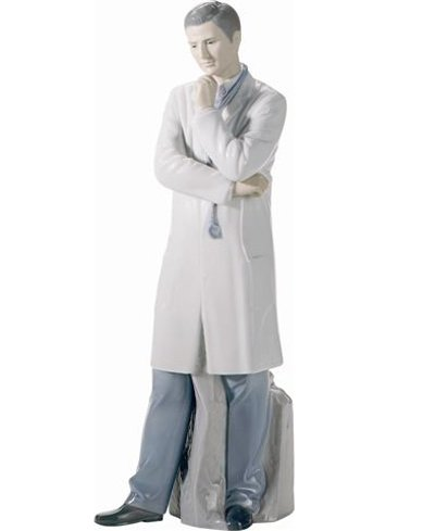 Lladro Male Doctor Sculpture ()
