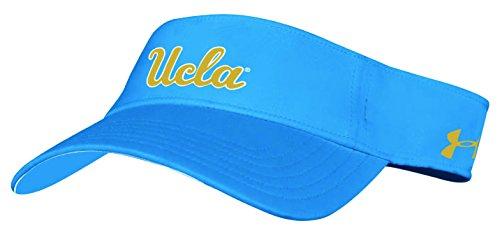 Under Armour NCAA UCLA Bruins Adult NCAA Renegade Visor, One Size, Powder Keg