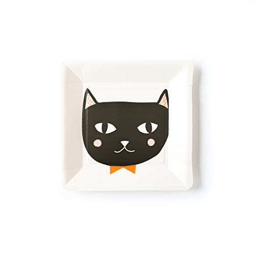 My Mind's Eye Halloween Cat Party Plates]()