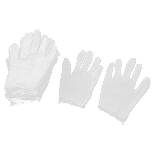 Lavoro lavoro lavoro eDealMax elastico Cuff i guanti pieni di protezione 10 white coppia by eDealMax