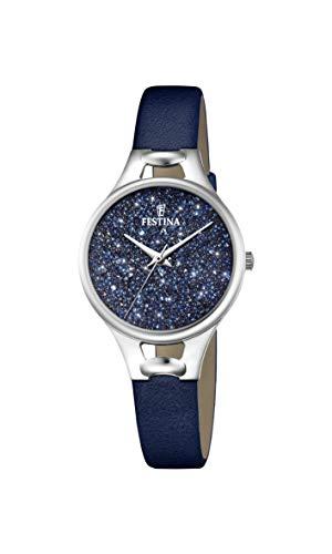 Festina Women's Analogue Quartz Watch with Leather Strap F20334/2