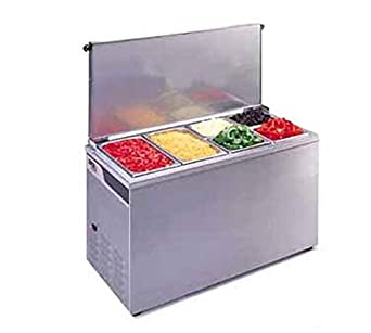 Amazon Com Apw Wyott Stainless Steel Countertop Cold Well Ctcw 43 Industrial Scientific