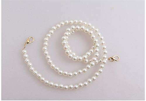 60CM 120CM Faux Pearl Bag Short Wallet Chain Strap DIY Replacement Purse Straps Belts Accessories Drop Shipping