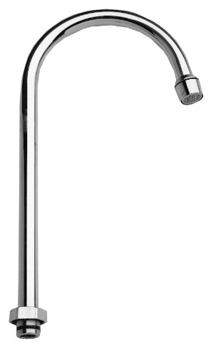 Fisher 3965 Swivel Gooseneck Spout with 2.2 Gpm Aerator, 12'' by Fisher