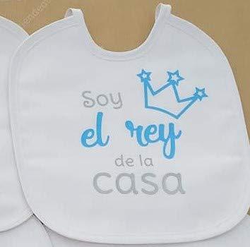 12 Modelos a elegir Babero personalizado con frases bonitas para bebes Regalo original para bebe. Guapa yo imagina mi papa