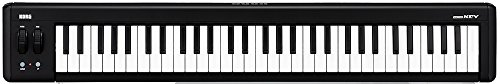 Korg microKEY 61-Key USB-Powered Keyboard - Black/White