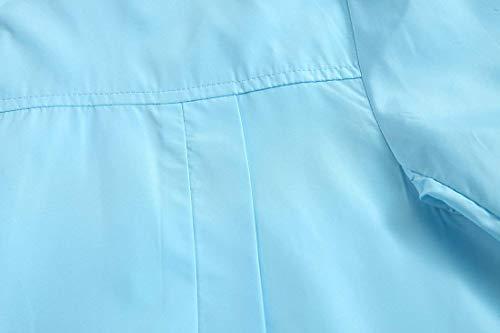 Abrigos Impermeables Impermeable Hombre Impermeable Impermeables Chaquetas Ligero Blau para Ropa Ocio Impermeable Deporte Chaqueta Adelina Chaqueta Chaquetas C7qwRZ