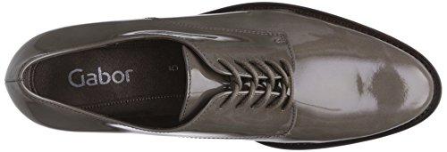 Stringate Grau 400 Shoes Grigio 90 Fashion Gabor da Donna Fango 31 IqOa8Cxw