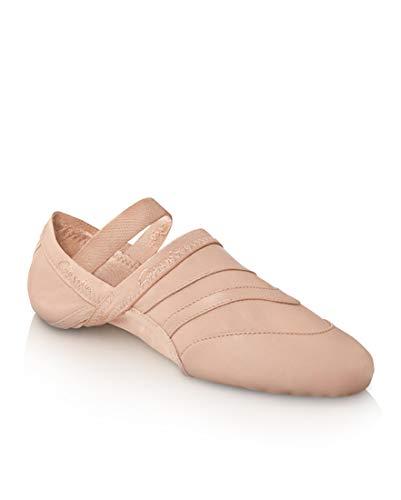 Capezio Women's Freeform Ballet Shoe,Light Pink,8 W US
