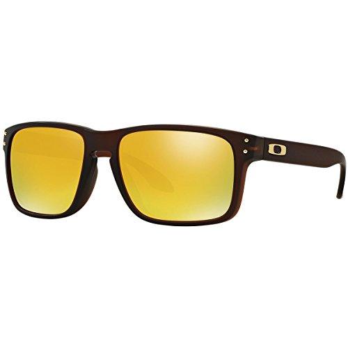 Sunglasses Root Beer - Oakley Men's Holbrook Rectangular Sunglasses, Matte Root Beer, 56 mm