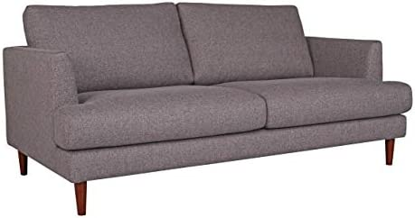 Amazon Brand Rivet Canton Deep Mid-Century Modern Loveseat Sofa Couch