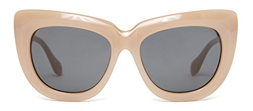 Sonix Women's Coco Sunglasses, NUDE/Black, One - Sonix Sunglasses