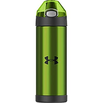 6a512c09 Under Armour Protege 16 Ounce Stainless Steel Hydration Bottle, Hyper Green